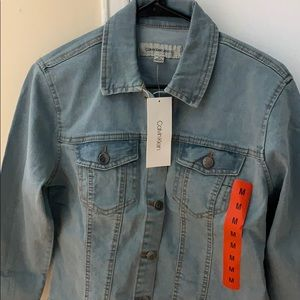 Brand new Calvin Klein denim jacket
